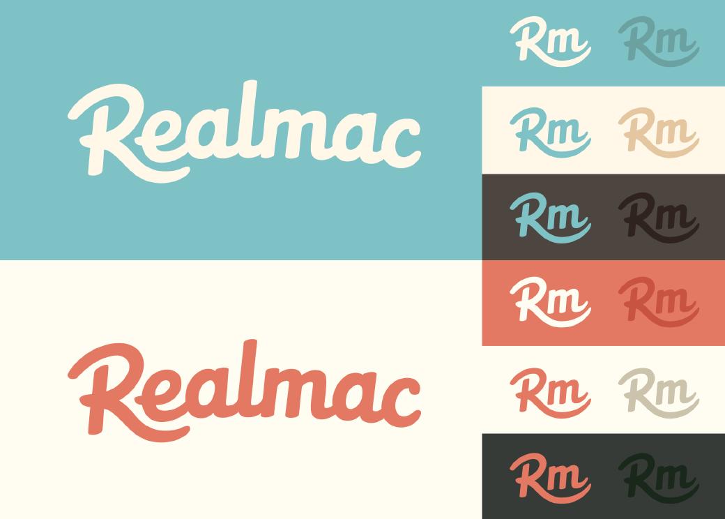 Realmac Logo Colourways